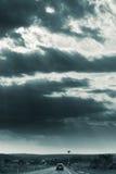 Guidando al Sun Fotografia Stock Libera da Diritti