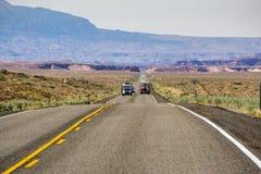 Guidando attraverso l'Utah immagine stock libera da diritti