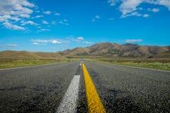 Guidando attraverso la Nuova Zelanda Fotografia Stock Libera da Diritti