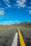 Guidando attraverso la Nuova Zelanda Immagini Stock
