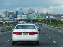 Guidando in Baltimora, Maryland Immagini Stock Libere da Diritti