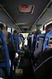 Guidando con un bus Fotografie Stock Libere da Diritti