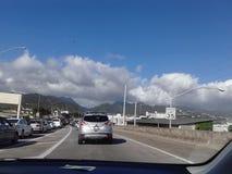 Guidando in Hawaai Immagine Stock Libera da Diritti
