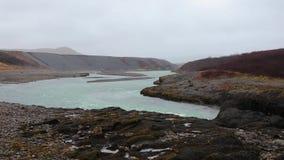 Guidando in Islanda video d archivio