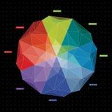 Guide 1 de couleur Photo stock