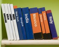Guide books Stock Images