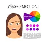 Guide d'émotion de couleur illustration libre de droits