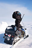 Guide d'aventure Photo libre de droits