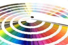 Guide de couleur photographie stock
