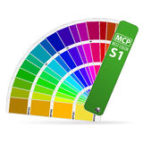 Guide de couleur Images stock