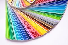 Guide de couleur photo libre de droits