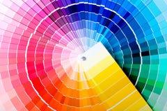 Guide de couleur Photographie stock libre de droits