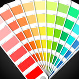 Guide de palette de couleur Image stock