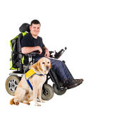 Guide Dog Royalty Free Stock Photography