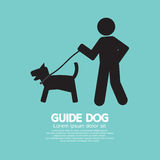 Guide Dog Graphic Symbol Stock Images