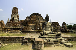 Guide for Phra Nakhon Si Ayutthaya. Royalty Free Stock Photography