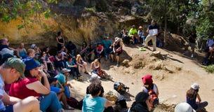 Guide sur la montagne de Jérusalem image libre de droits