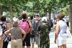 Guide touristique 911 Photographie stock libre de droits