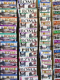 Guide turistiche turistiche di Roma, Italia Immagine Stock
