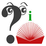 Guidebook. Symbol for guidebook, self help book, how to manual Royalty Free Stock Photo