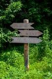 Guidepost Stock Photo