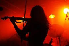 Guidi il violino immagini stock
