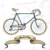 Guidi la vostra immagine della bici Fotografia Stock Libera da Diritti
