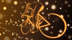 Guidi una bici Immagine Stock Libera da Diritti