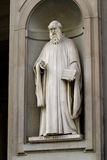 Guido Aretino Statue Royalty Free Stock Image
