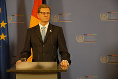 guido westerwelle Obrazy Stock
