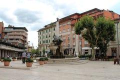 Guidotti Fountain in Montecatini Terme Stock Photo