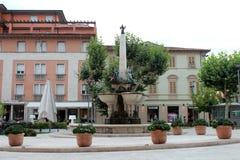 Guidotti Fountain in Montecatini Terme Royalty Free Stock Photos