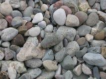 Guijarros 01 de la playa Fotos de archivo libres de regalías