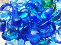 Guijarros azules Foto de archivo