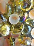 Guijarros de cristal Fotografía de archivo
