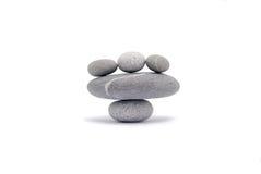 Guijarros de equilibrio Foto de archivo libre de regalías