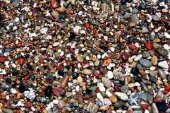 Guijarros de la playa Foto de archivo