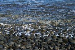 Guijarros del océano, Hawaii Fotos de archivo