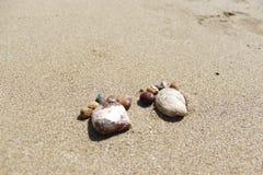 Guijarros del pie Imagen de archivo
