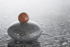 Guijarros del zen Fotografía de archivo