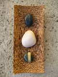 Guijarros del zen foto de archivo libre de regalías