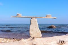 Guijarros en equilibrio Foto de archivo libre de regalías