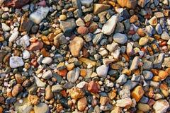 Guijarros en la playa Imagen de archivo