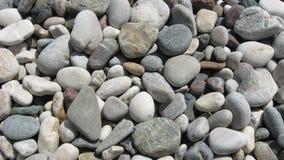 Guijarros, piedras en la playa Imagen de archivo libre de regalías