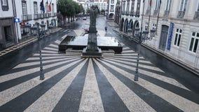 Guijarros portugueses modelados en las Azores foto de archivo libre de regalías