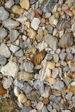 Guijarros y mar Fotografía de archivo libre de regalías