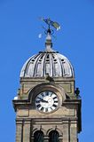 Guild hall clock tower, Derby. Stock Photos