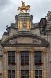 Guild House in Grand Place Brussels Stock Photography