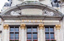 Guild House in Grand Place Brussels Royalty Free Stock Photos
