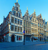 Guild houses at Grote Markt, Antwerp, Belgium Royalty Free Stock Photography